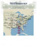 800-Mile Radius Map